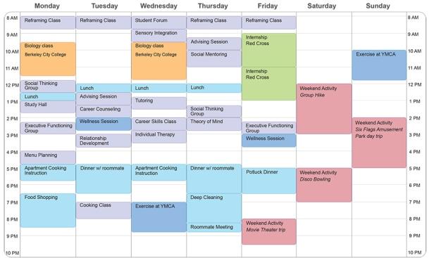example-student-schedule-2013